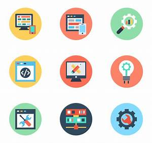 Web Design Icons Web Development Icons 726 Free Vector ...