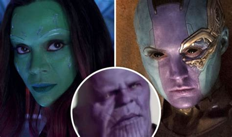 guardians   galaxy  nebula  kill thanos