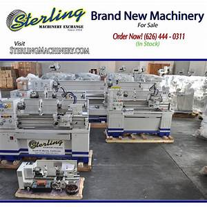 Buy Brand New Machinery At Sterling Machinery Exchange