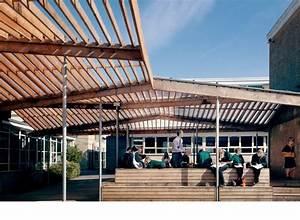Ralph Allen School Canopy And Outdoor Classroom By Feilden