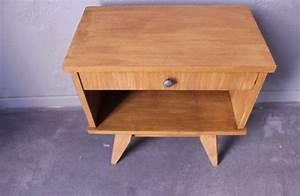 Table Pieds Compas : table de chevet pieds compas 1960 vintage by fabichka ~ Teatrodelosmanantiales.com Idées de Décoration