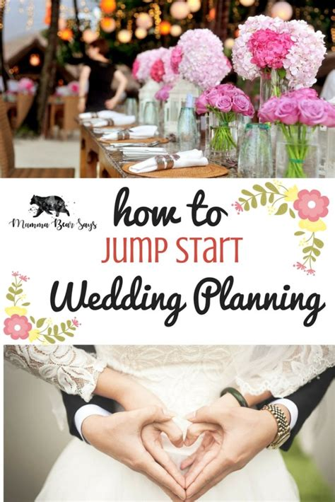 A jack and jill party should take place one to three months before the wedding. How To Jump Start Wedding Planning - Mamma Bear Says