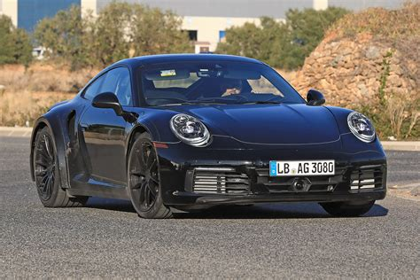 new porsche 911 new 2019 porsche 911 turbo spied for the first time road