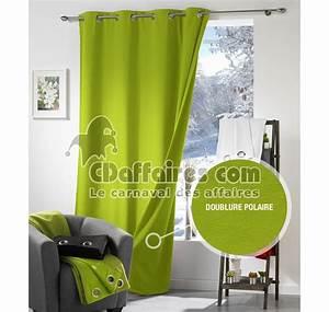 Double Rideau Thermique : rideau anti froid ~ Teatrodelosmanantiales.com Idées de Décoration