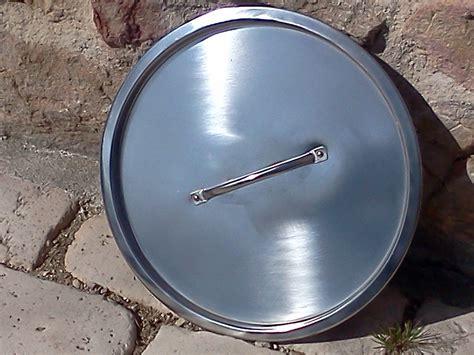 couvercle inox d 233 class 233 pour seau inox 20 litres toilettes seches toilette seche wc sec