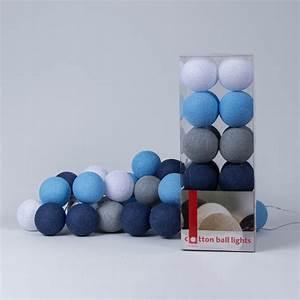 Cotton Balls Lichterkette : sailor blue lichterkette cotton ball lights ~ Eleganceandgraceweddings.com Haus und Dekorationen
