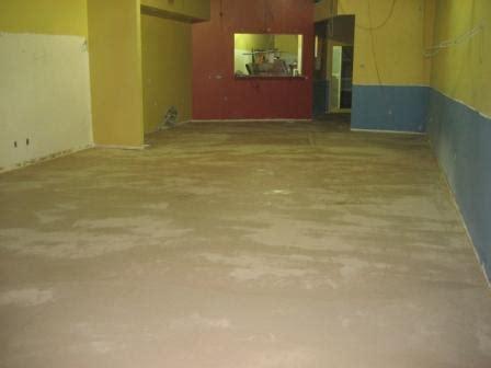 garage floor paint process before porcess