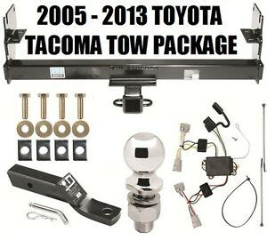 toyota tacoma trailer hitch package complete