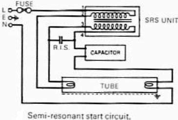 Electrical Wiring Diagram Connecting 2 2 L Fluorescent Light by Fluorescent L Facts For