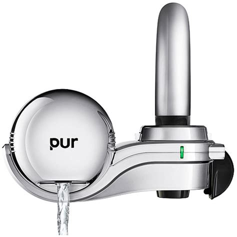 Pur Advanced Faucet Water Filter Vs Basic by Pur Basic Faucet Water Filter Black Walmart