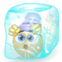 Ice Cube Freezing Cold Smiley Smilie Emoticon Animation ...