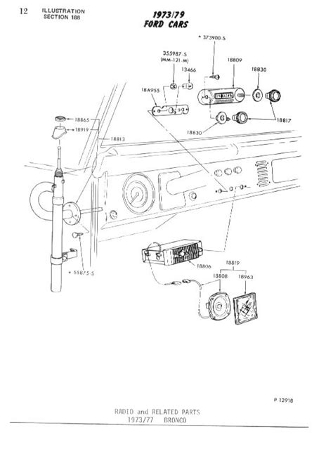 Early Bronco Ignition Switch Wiring Diagram by Bronco City