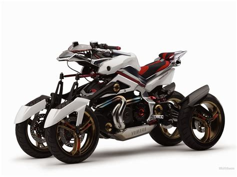Yamaha Prepare A Three-wheeled Motorcycle