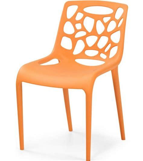 chaise de cuisine design chaise cuisine plastique design idées de décoration