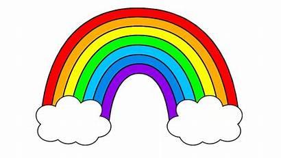 Rainbow Colors Clipart Song Children Colours Seven