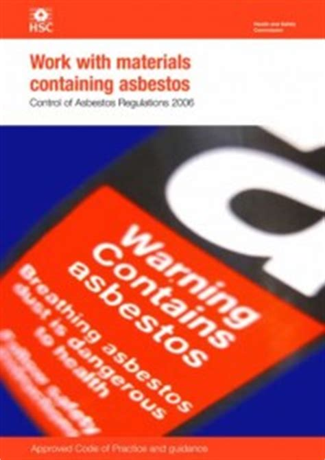 asbestos approved code  practice   work  process
