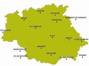 Carte Du Gers Détaillée : randonn e p destre trace gps gers ~ Maxctalentgroup.com Avis de Voitures