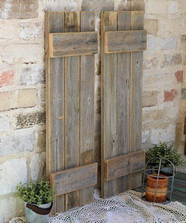 Look What Found Zulily Natural Reclaimed Wood