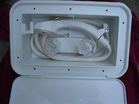 Rv Shower Parts - rv motorhome outside exterior auxiliary shower new lock ebay