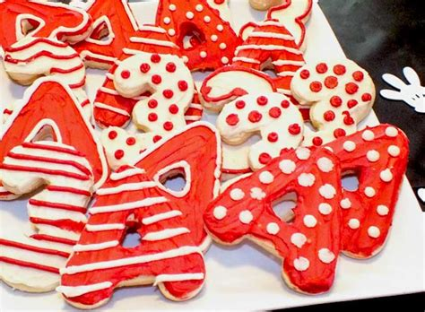 mickey mouse party cookies  sisters