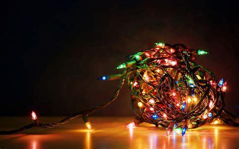 cool christmas lights computer desktop wallpaper
