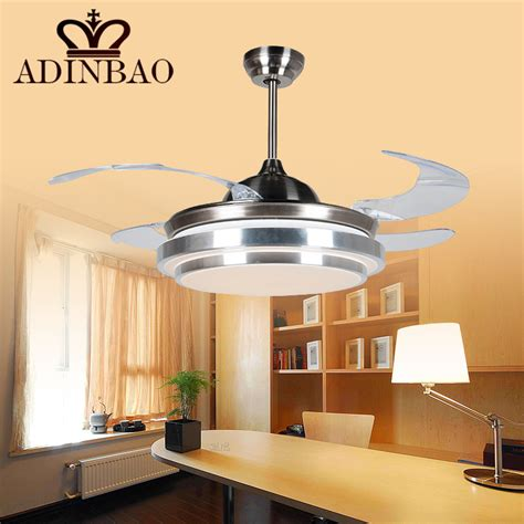 brief ceiling fan light with acrylic fan blade for small