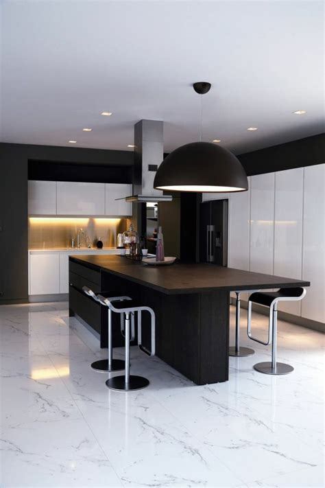 decoration cuisine noir et blanc osez la décoration noir et blanc pour votre cuisine