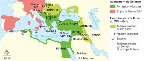 Empire Ottoman Carte by L Empire Ottoman Au Xviᵉ Si 232 Cle