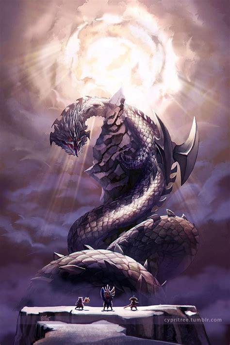 cypris art dalamadur elder dragon  dragon