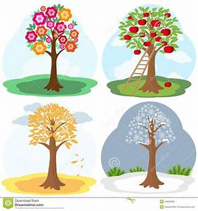 Seasons Tree Clip Art – 101 Clip Art