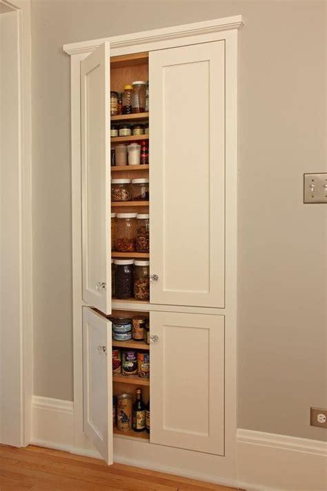 built in cabinet for kitchen 27 smart kitchen wall storage ideas shelterness 7989