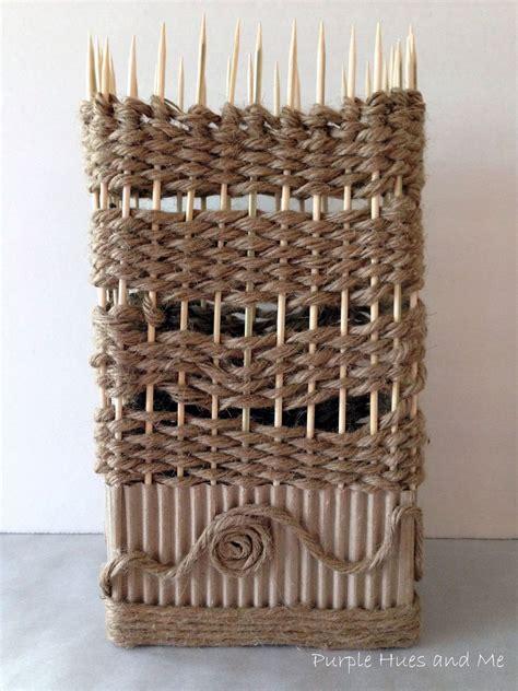 hometalk corrugated cardboard  jute twine vase