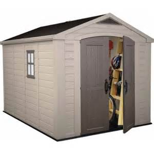 keter factor 8 x 11 storage shed taupe walmart com