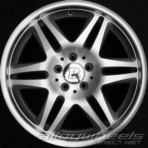 Brabus Mercedes Wheels by 18 Quot Brabus Monoblock Vi Wheels In Silver Polished