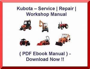 Kubota L 210 L210 L-210 Tractor Service Manual
