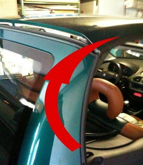 fermer le toit de 206 cc manuellement
