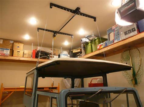 racor ceiling storage lift jeep fj40 hardtop lift storage system ih8mud forum