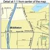 Middleton Wisconsin Street Map 5551575