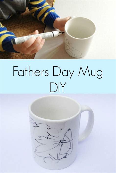 fathers day mug diy fathers day mugs handmade gifts