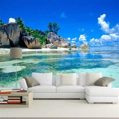 Custom Mural Natural Scene Photo Wallpapers Living Room 3d