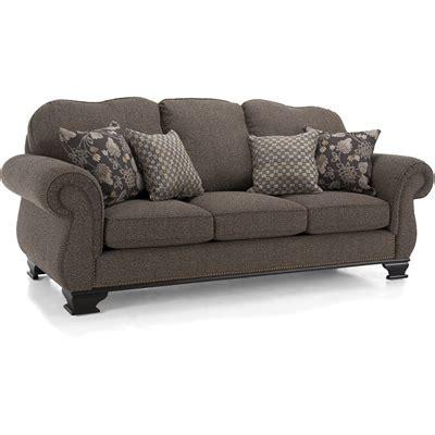 Decor Rest Furniture Sofas 6933S Espresso (Stationary