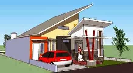 interior eksterior rumah minimalis model atap rumah