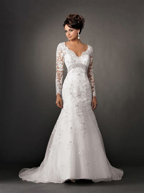 mermaid wedding gowns with sleeves ipunya - Wedding Gowns With Sleeves