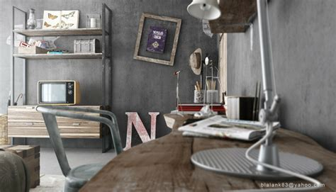 chambre style industrielle industrial bedrooms interior design home design