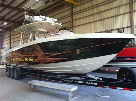 Catamaran Hull Graphics by Boat Wrap Graphics Boat Wrapping Pinterest Graphics