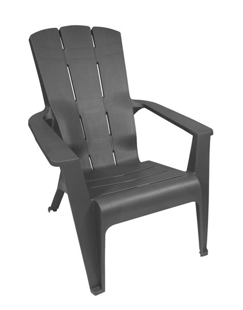 chaise adirondack canadian tire gracious living contour adirondack chair grey the home depot canada