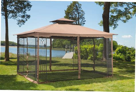 10 x 12 regency ii patio gazebo modern patio outdoor