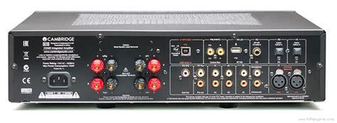 cambridge audio cxa manual stereo integrated