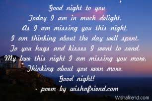 Good Night Love Poems for Him