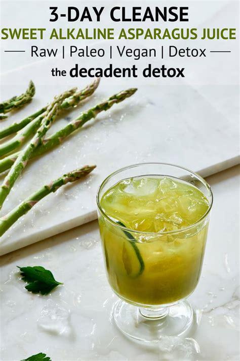 juice asparagus alkaline lemon apple recipe